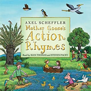 Mother Goose's Action Rhymes cover art
