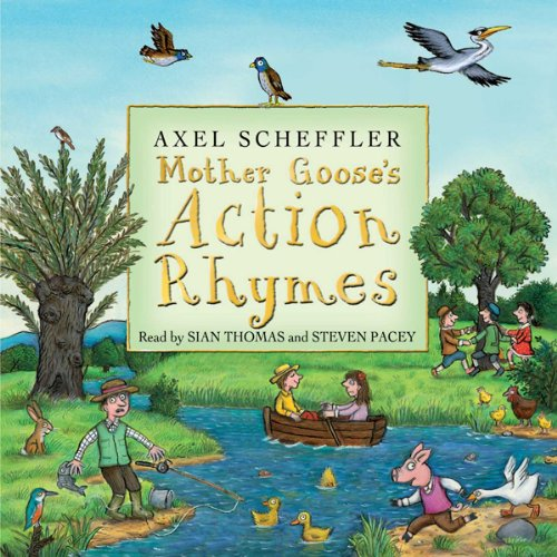『Mother Goose's Action Rhymes』のカバーアート