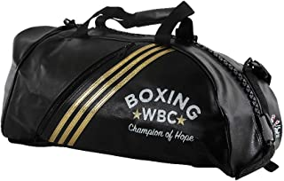 Adidas ADIACC051WBC-M 2 in 1 Bag WBC Black/Gold-Medium