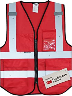 safety vest with pockets class 3
