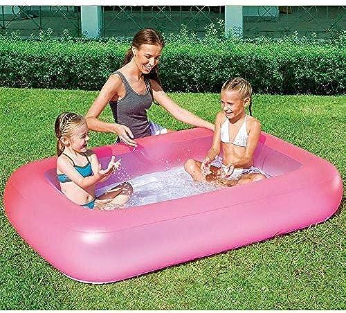 venta con descuento XSWZAQ Piscina para Niños Niños Niños Inflable con Fondo de Burbujas para Niños Piscina Familiar de Padres e Hijos Piscina de Juguete para Niños  online al mejor precio