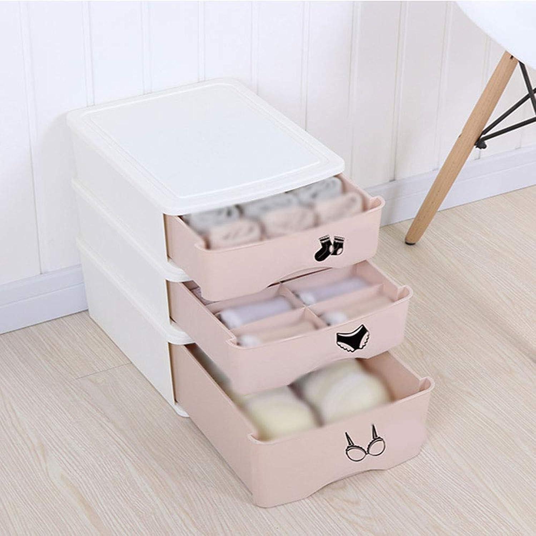 mejor calidad mejor precio GW WG WG WG Madera de la Caja de Almacenamiento del hogar, Necesidades diarias del cajón plástico del Armario de la Ropa Interior  auténtico