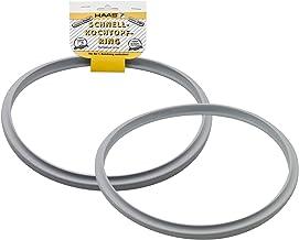 Lalia Dichtungsring 26cm f/ür Schnellkocht/öpfe Silikon Allzweck Ring kompatibel f/ür 80/% aller Kocht/öpfe