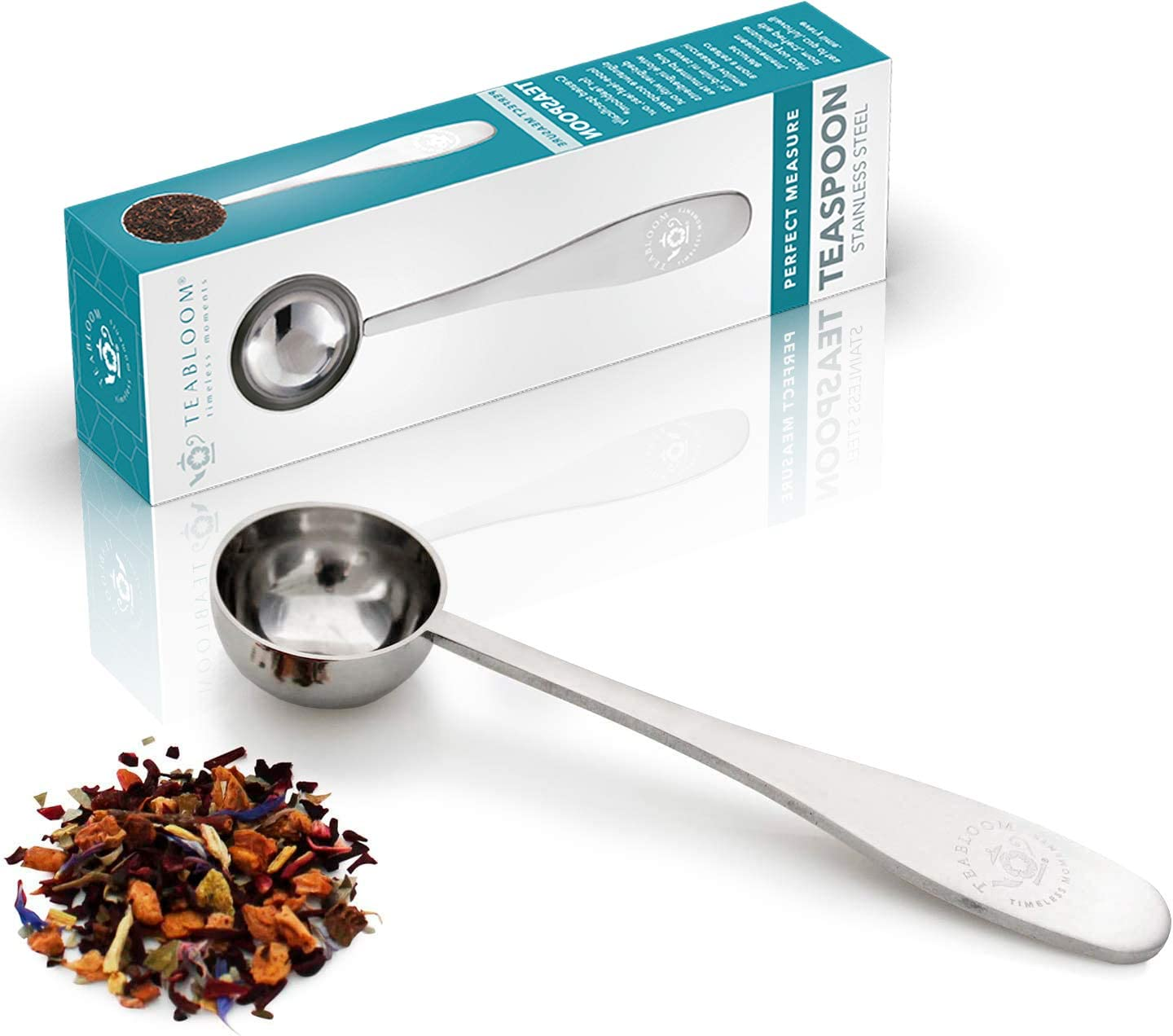 Teabloom Perfect Measure Loose Leaf Premium Tea Spoon Popular brand in the world Quality - Chicago Mall