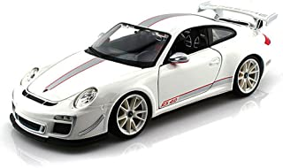 Porsche 911 GT3 RS 4.0, White - Bburago 11036 - 1/18 scale Diecast Model Toy Car