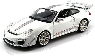 Porsche 911 GT3 RS 4.0, White - Bburago 11036 - 1/18 scale Diecast Model Toy Car