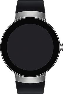Connect Digital Smart Module Stainless Steel Smartwatch, Silver/Black Strap (Model 3660016)