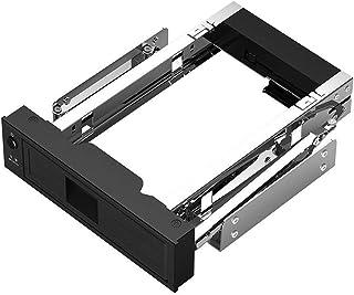CMDZSW Harde schijf Caddy 3.5 inch 5.25 Bay Roestvrij interne harde schijf Montagebeugel Adapter 3.5 inch SATA HDD Mobile ...