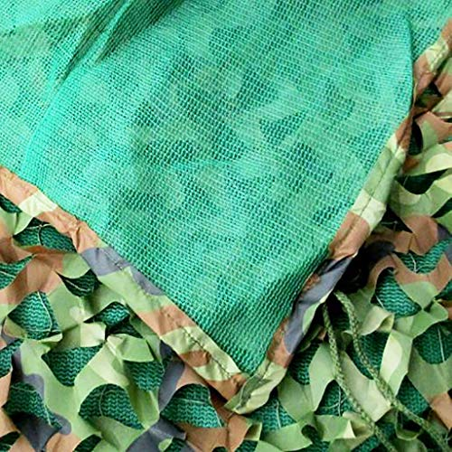 Gxmyb Shading Net Jungle Camouflage Net Drie-laags Shade Net Binnenplaats Balkon Jungle Met Zonnescherm Camouflage Net Zonneblok Schaduw Doek