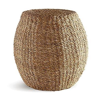 Napa Home & Garden, Basketry, Seagrass Ottoman/Pouf