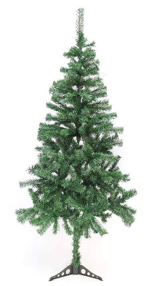 代わってモナリザ月クリスマスツリー 150cm 1.5m ツリー 組み立て式 スタンド付 クリスマス ツリー 大型 グリーンツリー xmas 飾り ツリー 単体 ヌードツリー CHRISTMASTREE-150-KR