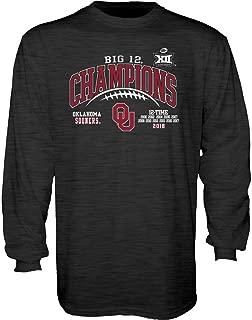 Elite Fan Shop 2018 NCAA Conference Champs Laces - Charcoal Longsleeve Tshirt