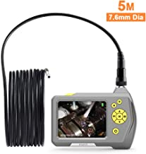 Anykit Industrial Endoscope-Inspection Camera Features a 16.4ft Waterproof Snake Camera, 3.5