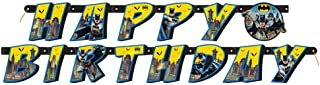 Batman Jointed Banner 6' Yellow