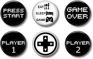 Video Game Gamer Magnets: Cute Locker Magnets for Boys and Girls (Old School)