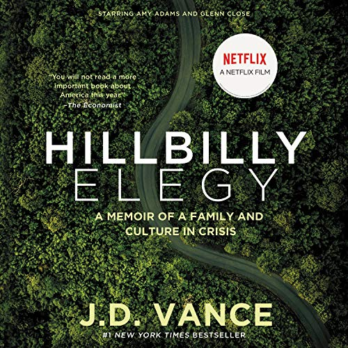 Hillbilly Elegy Audiobook By J. D. Vance cover art