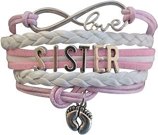 Sister Bracelet -Sister Jewelry- Sister Charm Bracelet, Big Sister Bracelet for Girls- Gift for Sisters