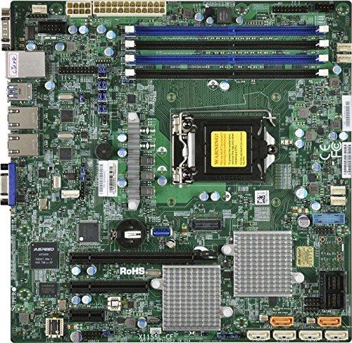 Supermicro X11SSH-CTF Desktop Mainboard LGA 1151 (H4-bus) Micro ATX Intel® C236