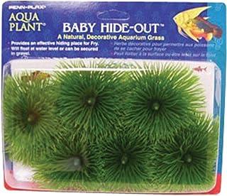 Penn-Plax Fish Breeding Grass Baby Hideout, Safe Hiding for Fry, Decorative Aquarium Grass