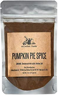 Premium Pumpkin Pie Spice Seasoning: Perfect for baking, cooking, coffee and much more by Collected Foods
