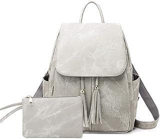 BROCCOLI Zaini Donna, Daypack Laptop, Zainetto Donna Zaino alla Moda con Tracolla Casuale Multifunzionale Borse a Spalla d...