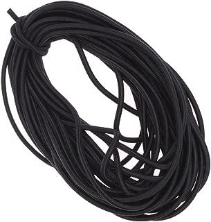 Ninepeak 1/8-Inch Heavy Stretch Round String Elastic Cord, 12 Yards (Black)