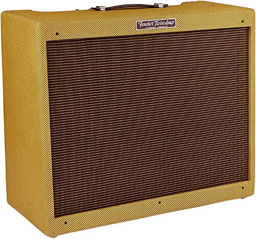 New Fender '57 Custom Twin 40W 2x12 Tube Guitar Amp Lacquered Tweed