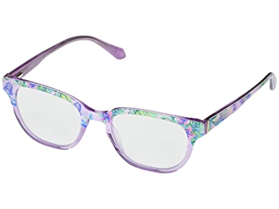 Lilly Pulitzer Sandbar (Mermaid/Crystal Purple) Reading Glasses Sunglasses