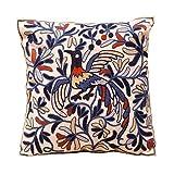 Decorative Embroidered Boho Pillow Cover - Handmade...