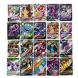 Cartas Pokemon, Juegos de Cartas para Niños, Cartas de Juego, Cartas de Anime, Colección de Cartas Pokemon Raras, Regalo para Niños (versión en inglés)