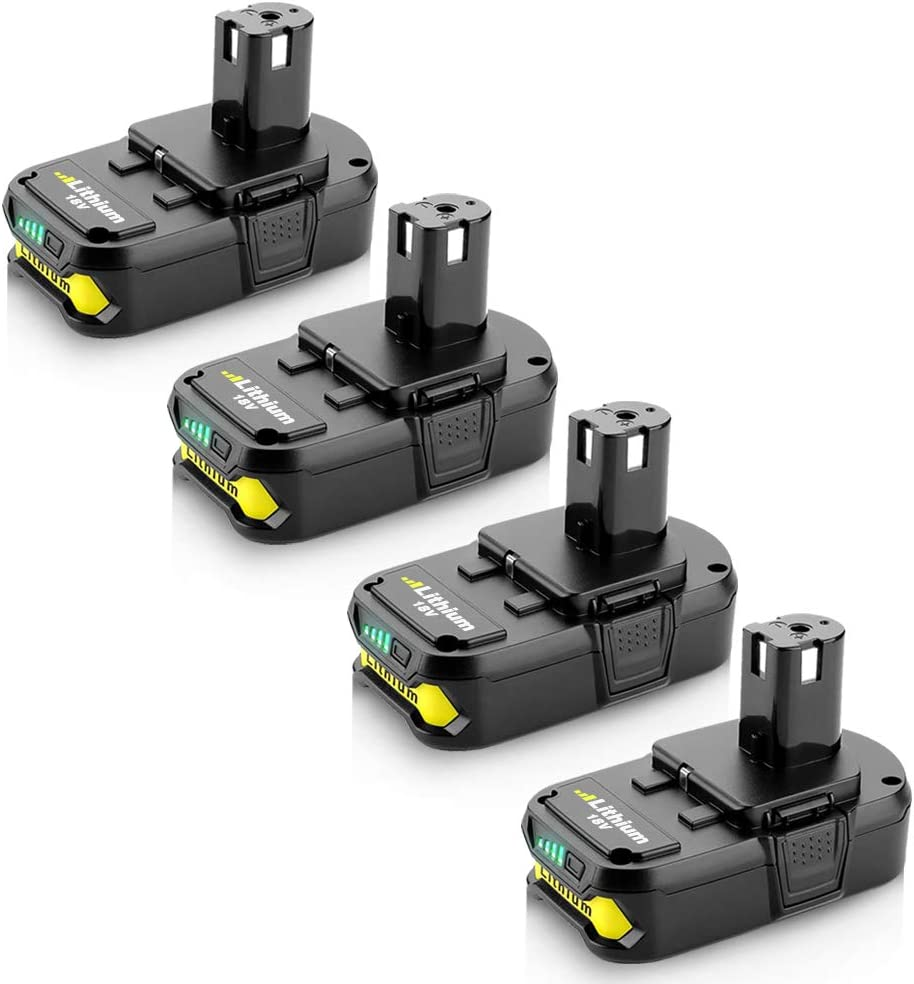 4Pack P102 2.5Ah 18V Replacement for Ryobi 18Volt 価格 新作 大人気 C ONE+ Battery