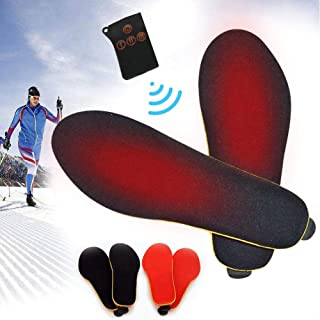 Electric Heated Insole Foot Warmers With Remote Control,