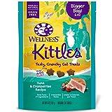 WELLNESS Kittles Natural Grain Free Cat Treats, Tuna &...