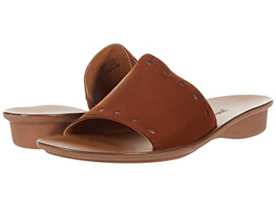 Paul Green Crosby Slide (Cognac Combo) Women
