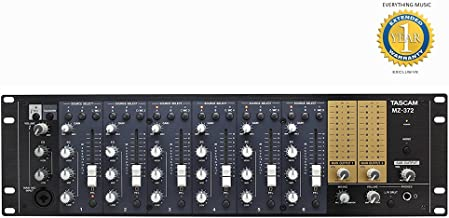 Tascam MZ-372 Industrial Grade Zone Mixer with Microfiber and Free EverythingMusic 1 Year Extended Warranty
