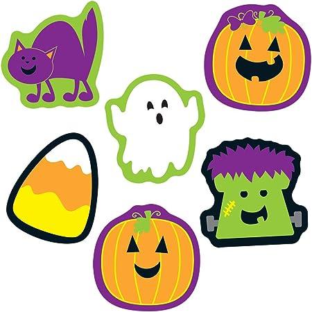 Carson Dellosa Education Carson Dellosa – Halloween Mini Colorful Cut-Outs, Fall Classroom Décor, 36 Pieces, Seasonal (120179)