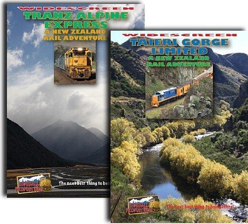 New Zealand Rail Adventure, 2 DVD Set: Tranz Alpine Express and Taieri...