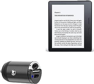 Carregador de carro Amazon Kindle Oasis (1ª geração 2016), BoxWave [Mini Carregador de carro Dual PD] Rápido, 2 carregador...