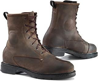 TCX X-Blend Waterproof Vintage Brown Motorcycle Boots, X Blend WP