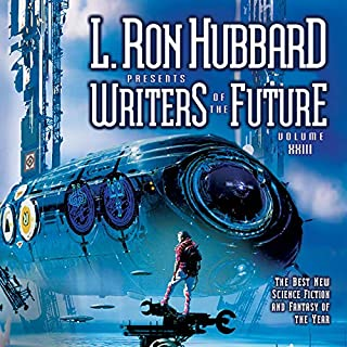 L. Ron Hubbard Presents Writers of the Future, Volume 23                    By:                                                                                                                                 Jeff Carlson,                                                                                        Tony Pi,                                                                                        Douglas Texter                               Narrated by:                                                                                                                                 Gabrielle De Cuir,                                                                                        Emily Janice Card,                                                                                        Stefan Rudnicki,                   and others                 Length: 15 hrs and 20 mins     44 ratings     Overall 3.9