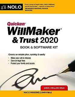 Quicken Willmaker & Trust 2020: Book & Software Kit