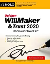 Quicken Willmaker & Trust 2020: Book & Software Kit
