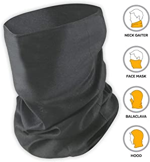 Tough Headband UV Face Mask - Neck Gaiter for Dust & Sun Protection - Face Cover/Scarf for Fishing, Hiking, Cycling & ATV Riding - UPF 30 Breathable Summer Balaclava