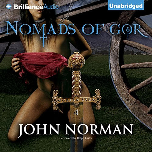 Nomads of Gor audiobook cover art