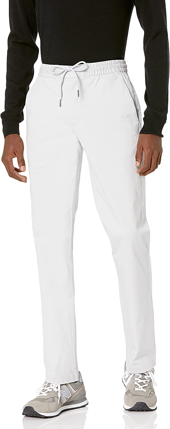 Goodthreads Men's Athletic-Fit Credence Washed Chino Super Special SALE held Pant Drawstring