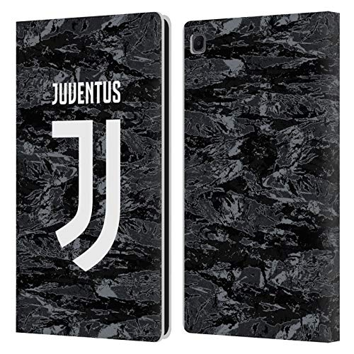 Head Case Designs Ufficiale Juventus Football Club Home Goalkeeper 2019/20 Race Kit Cover in Pelle a Portafoglio Compatibile con Samsung Galaxy Tab S6 Lite