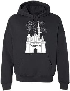 DisGear Men's Disney World Castle is My Home Adult Unisex T-Shirt