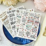 TTBH Hello Spring Set For Scrapbooking DIY Projects/Photo Album/Card Making Crafts