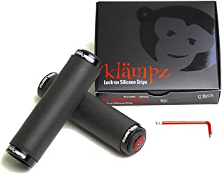 RedMonkey Klampz Lock On Grip with Black Collars