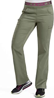 Med Couture Touch Women's Yoga 2 Cargo Pocket Scrub Pant